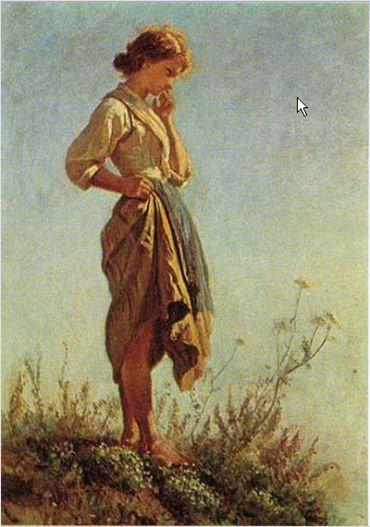 Pittore Filippo Palizzi Dell'Ottocento Napoletano