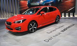 2018 Subaru Impreza Finally Sets Foot On European Soil :  Thats when the Japanese automaker introduced the all-new Impreza at the New York Auto Show with sales in the U.S. commencing for the 2017 model year. As North America prepares for  MY 2018   the Old Continent finally gets the hatchback it has been waiting for almost one and a half years now.  Introduced in Europe at the 2017 Frankfurt Motor Show the  2018 Subaru Impreza for Europe  comes exclusively in five-door hatchback…