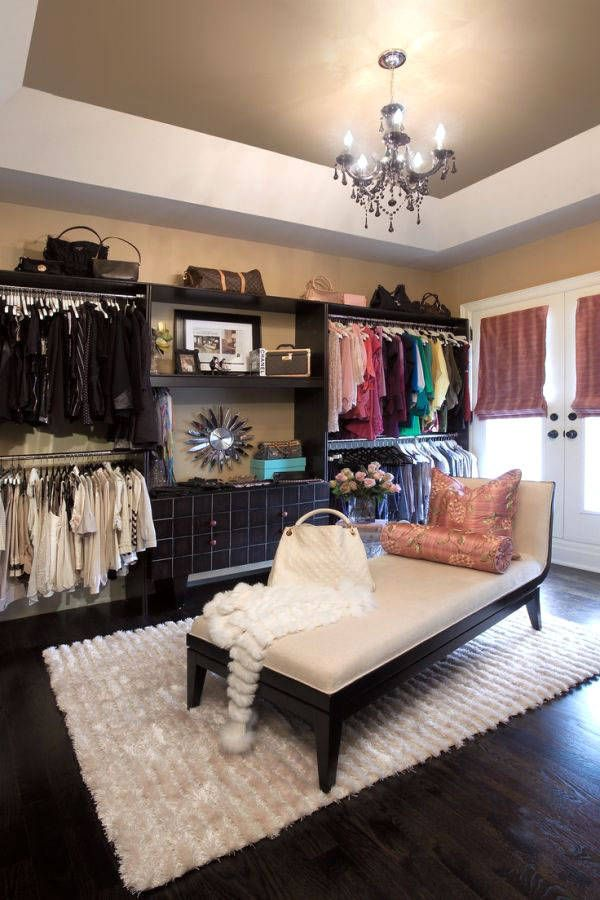 13 enviable closets from pinterest - Dressing Room Bedroom Ideas