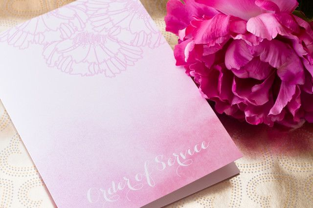 Featured Wedding Invitation Design: Adore Wedding Invitation Suite by I Will Invitations - WeddingLovely Blog