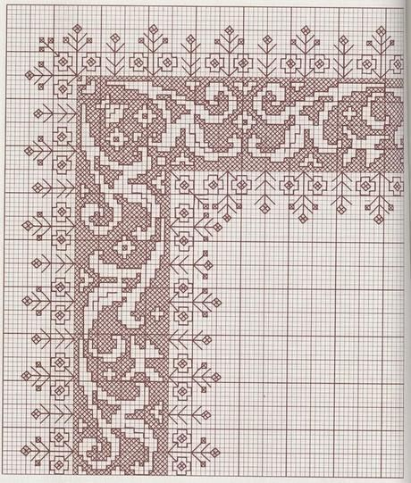long armed cross stitch instructions