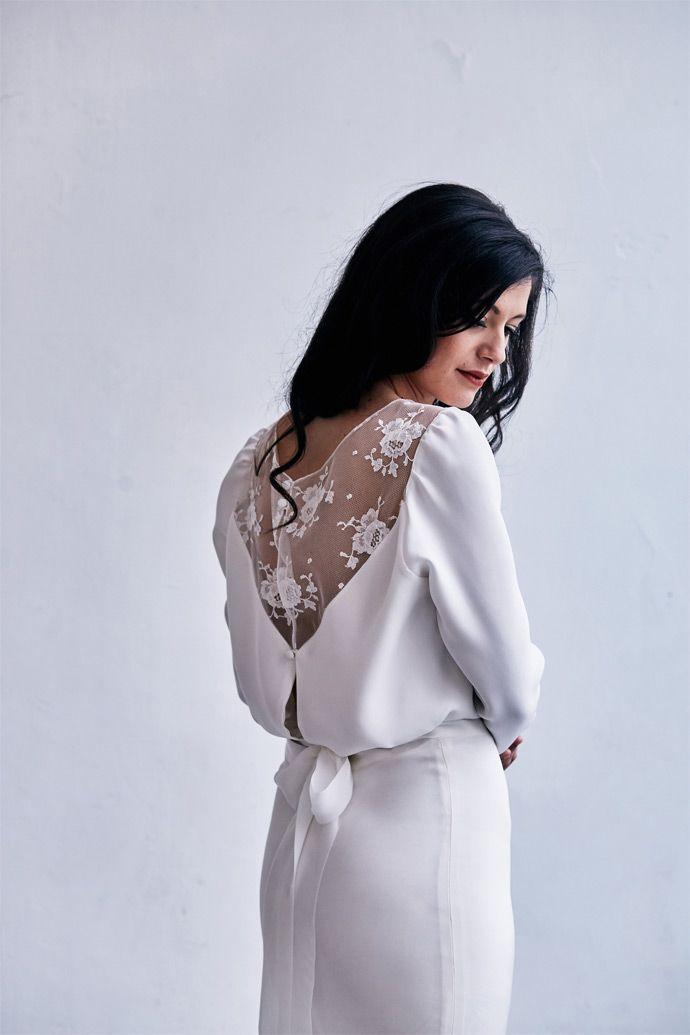 Robes de mari e caroline quesnel collection 2018 for Concepteur de robe de mariage de san francisco
