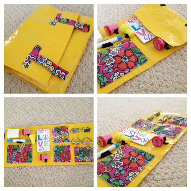 Duct Tape Craft Ideas For Kids Part - 32: A Portable Duct Tape Craft Kit! When You Simply Need To Be On The Go