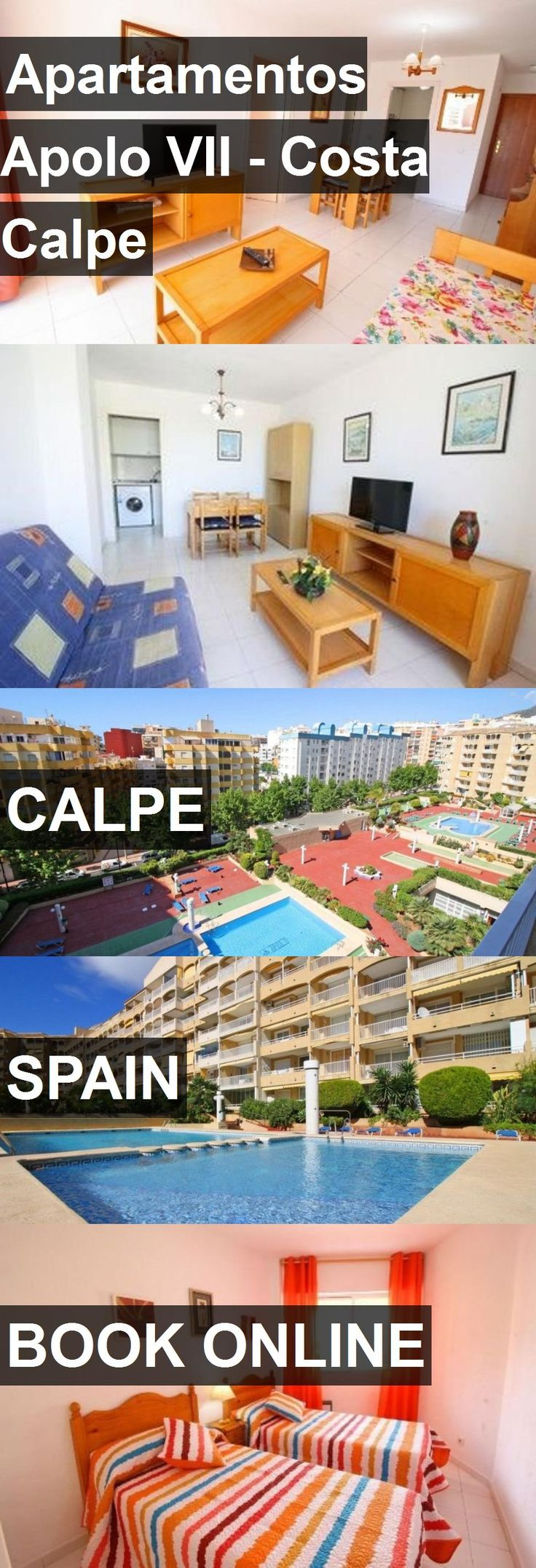 Hotel Apartamentos Apolo VII - Costa Calpe in Calpe, Spain. For more information, photos, reviews and best prices please follow the link. #Spain #Calpe #travel #vacation #hotel