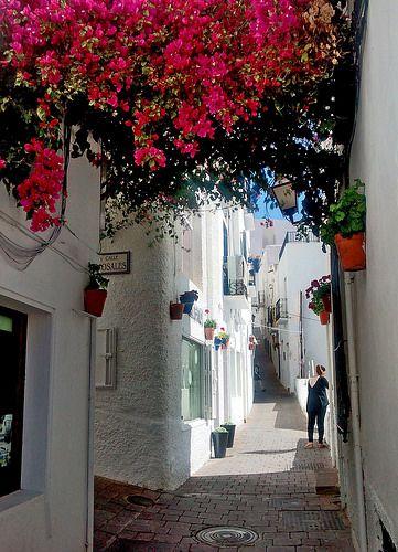 #Mojácar - Almeria. http://www.ferienwohnungen-spanien.de/Mojacar-Village/artikel/mojacar-stranddorf-in-toller-naturlandschaft