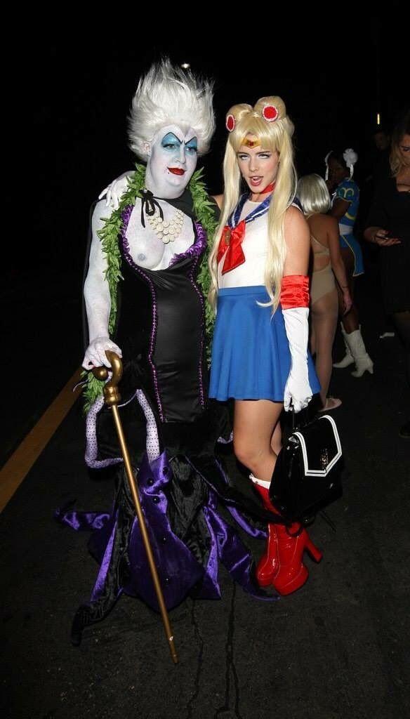 Emily Bett Rickards & Colton Haynes - Halloween Party