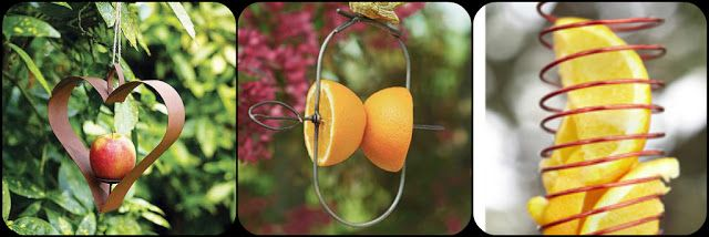 il giardino segreto: Mangiatoie per gli uccelli selvatici - idee e ispirazioni