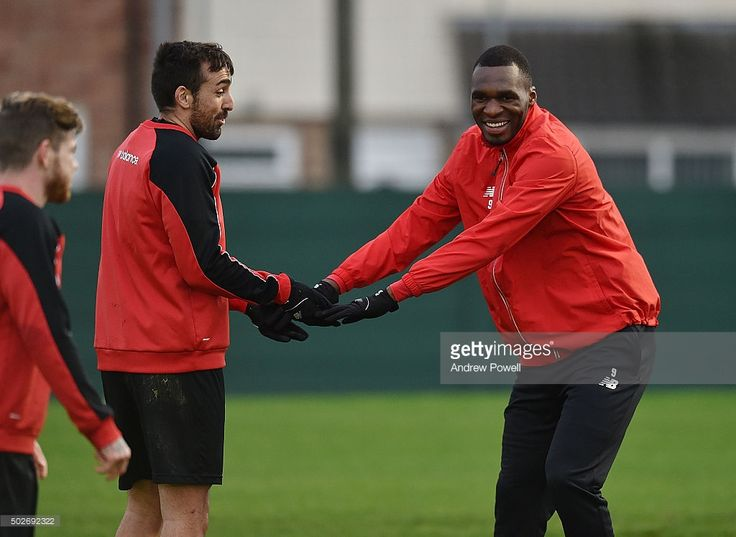 Could these two be Liverpool's only senior players at Exeter on Friday? Klopp looks to prevent any more big name injuries