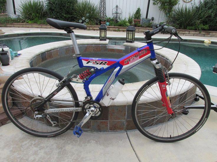 Specialized FSR Full Suspension Mountain Bike - Size 15.5 - Team Jenson USA