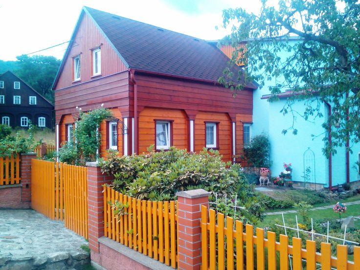 Dřevěný domek v Dolním Podluží - Severočeský kraj