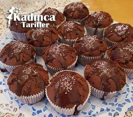 ÇİKOLATALI MUFFİN TARİFİ http://kadincatarifler.com/cikolatali-muffin-tarifi-2