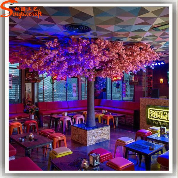 Pin By Lisa O Day On Decorazioni Blossom Restaurant Pink Blossom Tree Artificial Cherry Blossom Tree