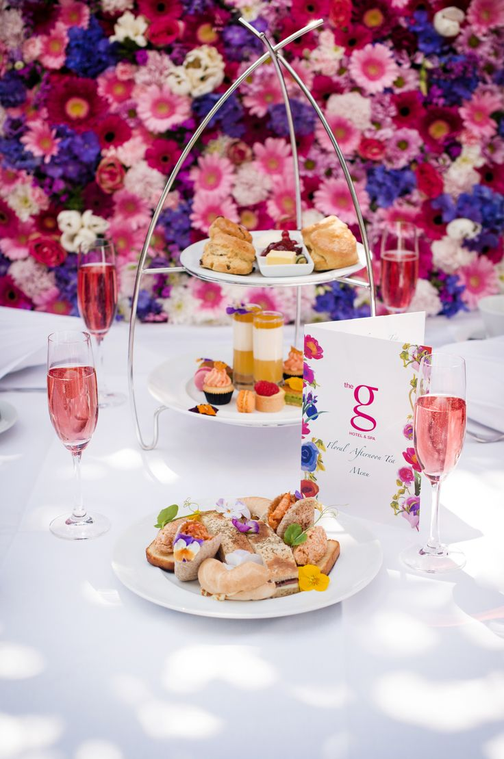 New Limited Floral Afternoon Tea at the g Hotel & Spa in Galway - served from 12pm to 6pm each day. Available until 31st July 2016. To book call +353 91 865200 or email eat@theg.ie.