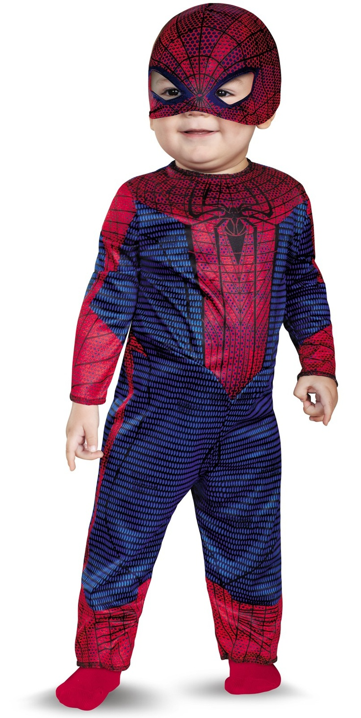 how to make a spiderman costume out of clothes