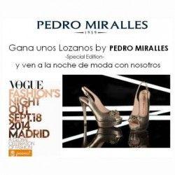Gana #Zapatos + #PedroMiralles #Party en #Madrid !!! ^_^ http://www.pintalabios.info/es/sorteos_de_moda/view/es/4045 #ESP #Sorteo #Calzado