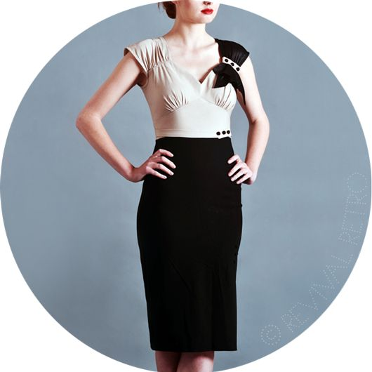 Old Hollywood Glamour Dress - Revival