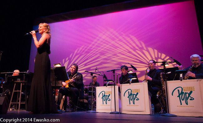 Imagery by world-class imagemaker Tommy Ewasko from the May 10, 2014, performance of The Glendale POPs at The Alex Theatre featuring internationally acclaimed singer and pianist Carol Welsman.