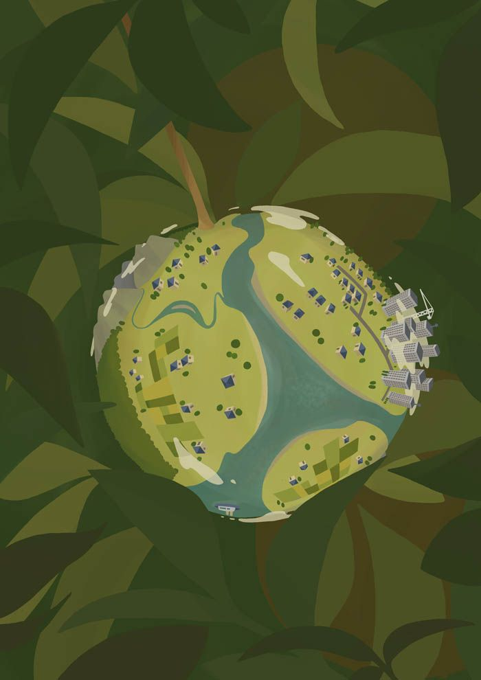 illustration by REBECCA WALTHALL, illustrator represented by OWL Illustration agency www.owlillustration.com