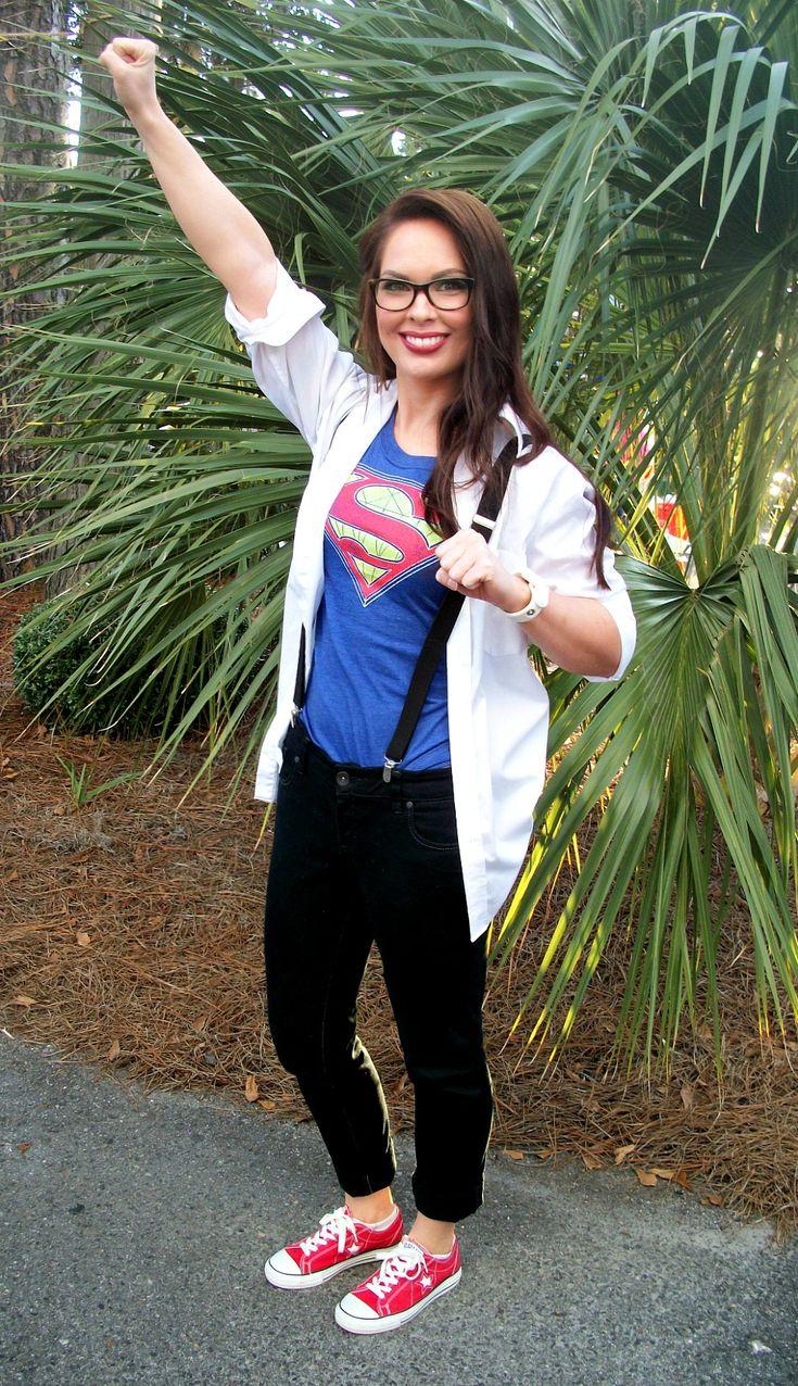 DIY Superwoman Costume Idea