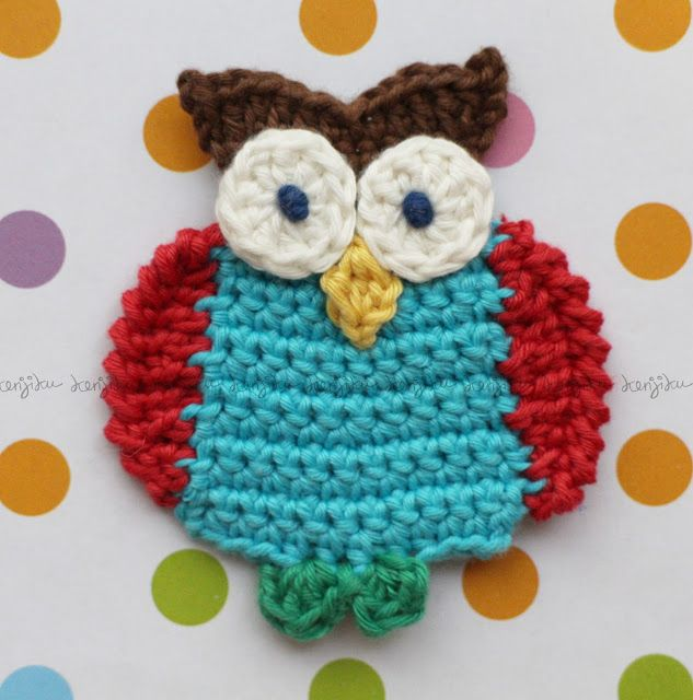 KENJIKU let the crochet talk: OWL oh OWL ....