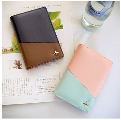 Cute passport wallets to hold all important documents for a plane trip