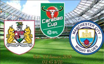 Prediksi Bola Bristol City vs Man City 24 Januari 2018