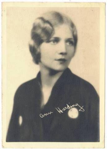 1920's Ann Harding 5x7 Fan Photo