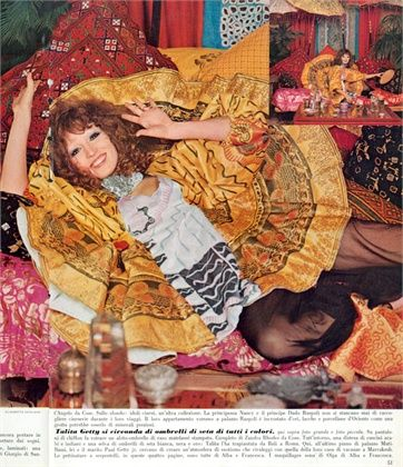 Talitha Getty in 1970