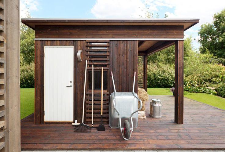Flytt ut i hagen - Byggmakker+