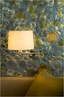 tin can lid wall