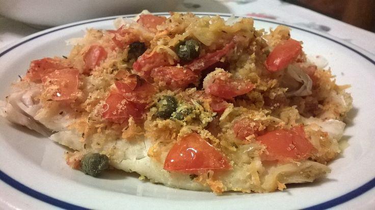 Cernia gratinata  Un secondo di pesce da gusto delicato ed intenso  #ricettepesce #cerniagratinata