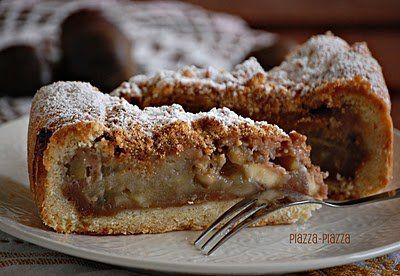 Nonna Sole gesztenyés-almás crostatája | Tavola in Piazza
