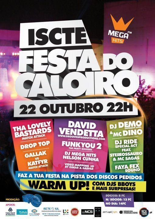 Festa do Caloiro - ISCTE