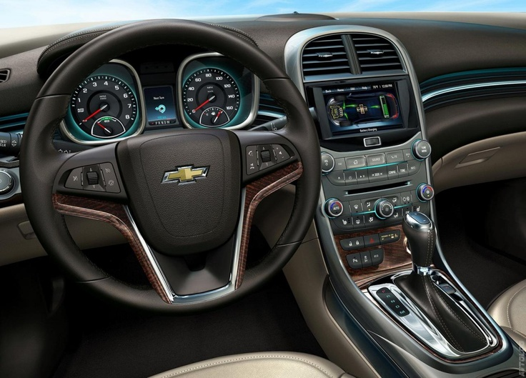 The Interior Of 2013 Chevrolet Malibu Eco, Come To Homestead Chevrolet To  View For Your Self!