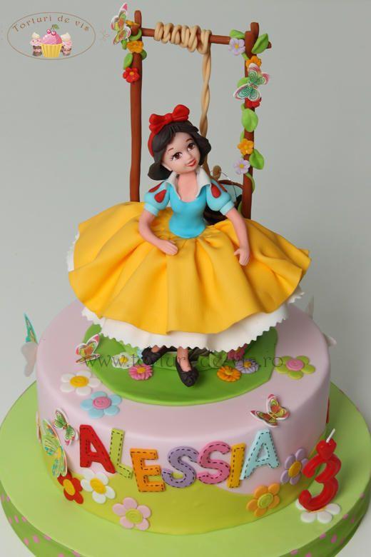 Snow White - Cake by Viorica Dinu