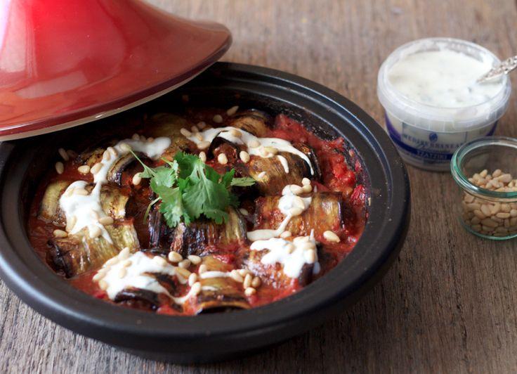 The Kate Tin: Moroccan lamb and aubergine tajine