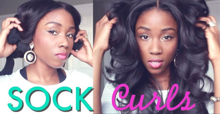 HEAT FREE CURLS | HOW TO CURL YOUR HAIR WITH SOCKS