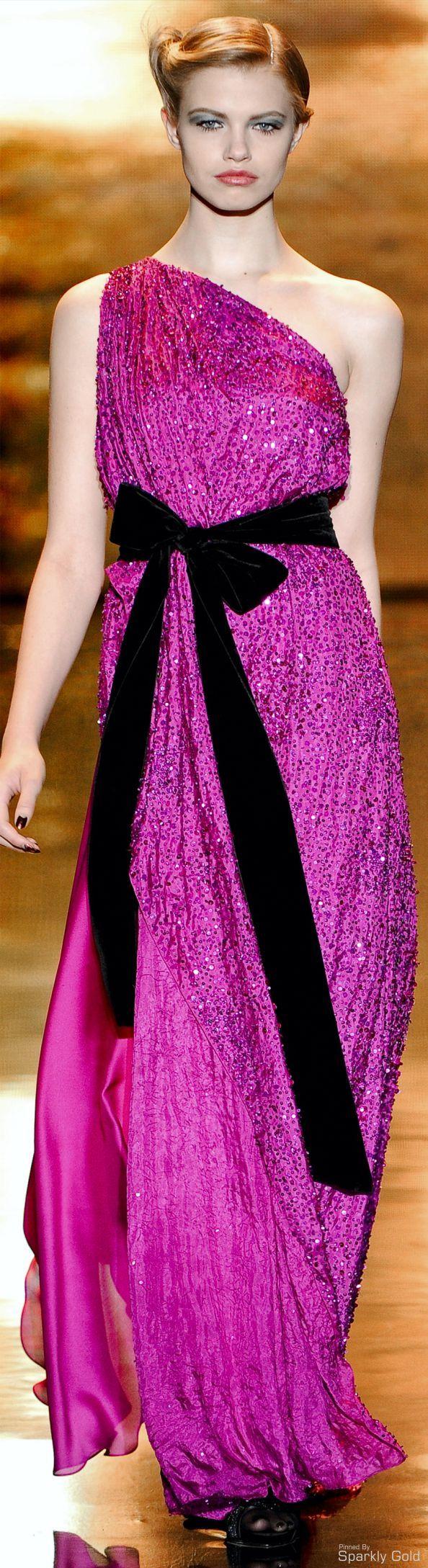 Hermosa Vestidos De Novia De Color Rosa Caliente Y Negro Foto ...