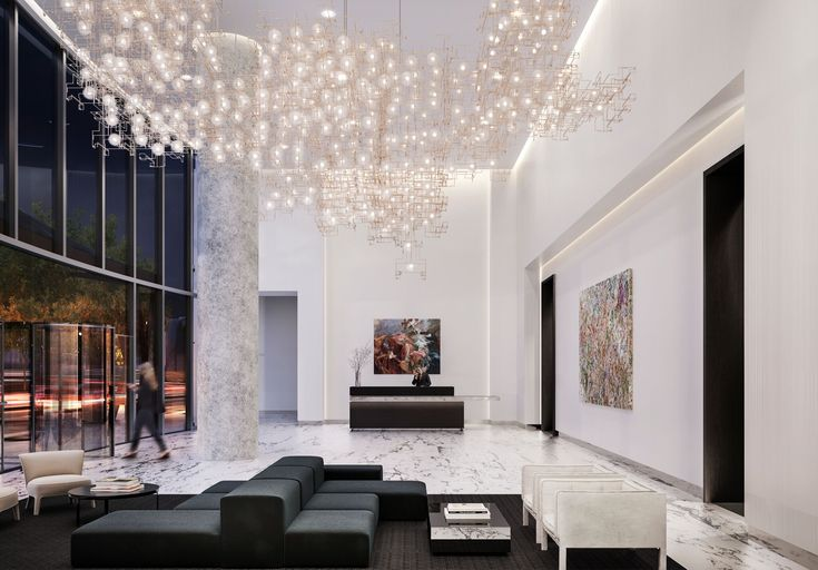 Amenities, interior designs unveiled for South Loop's 1000M - Curbed Chicagoclockmenumore-arrownoyes : The tower is a collaborative effort between prominent designers Helmut Jahn and Kara Mann