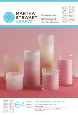113 best crafts stencils stamps and rub ons images on for Martha stewart glass paint instructions