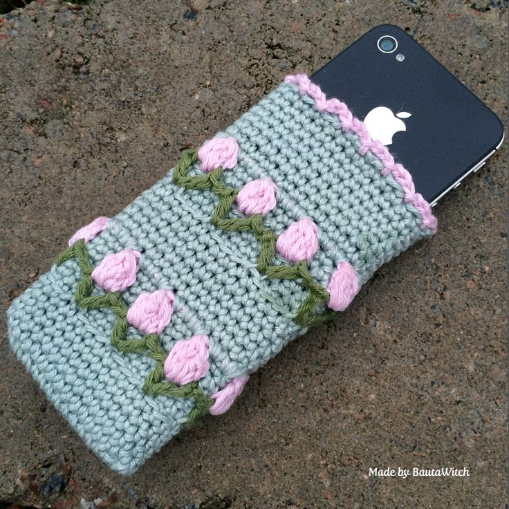 Crochet case for iPhone by BautaWitch  Free pattern