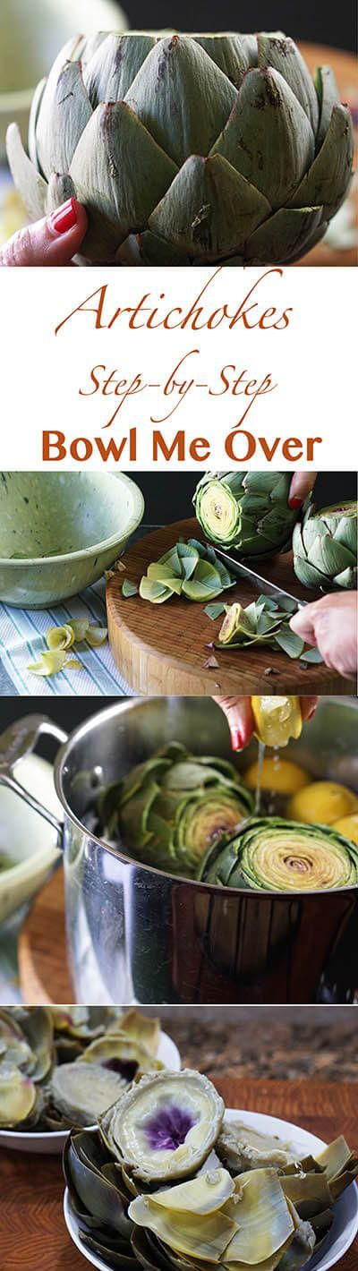 I love artichokes, they are my very favorite vegetable. Have you ever cooked…
