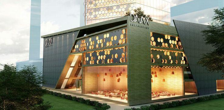 Office building retail design architecture