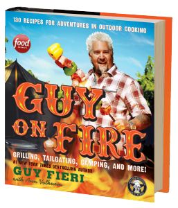 Guy Fieri, Food Network star and #1 New York Times bestselling author, is back with his latest cookbook. Guy on Fire is on sale May 6th.