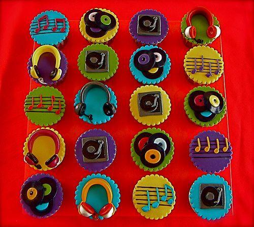 DJ Cupcakes by The Ladygloom, via Flickr
