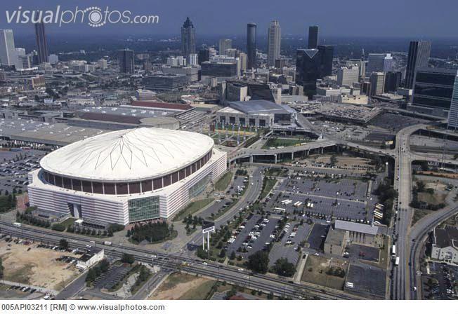 georgia dome Atlanta | USa, Georgia, Atlanta, Georgia Dome [005API03211] > Stock Photos ...
