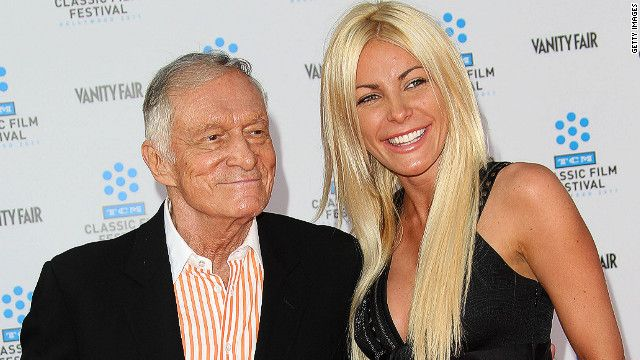 Playboy Hugh Hefner marries runaway bride Crystal Harris