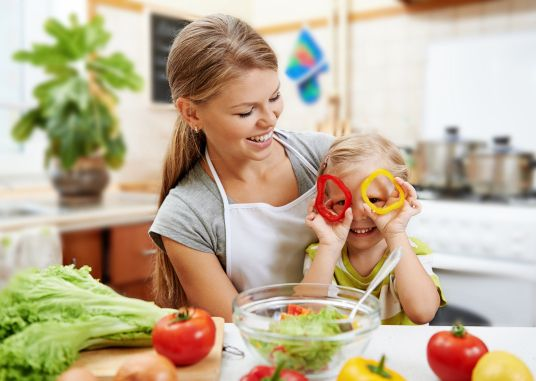 It's #NationalNutritionMonth! Make nutrition a priority in your family with four ways to rethink nutrition for kids: