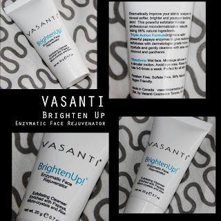 MichelaIsMyName: VASANTI BrightenUp Enzymatic Face Rejuvenator REVI...