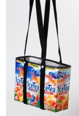 Tetra Pack, selber machen, basteln, Handwerk, kleben, Tasche, Einkaufskorb, Saft, Milch, individuell, Müll